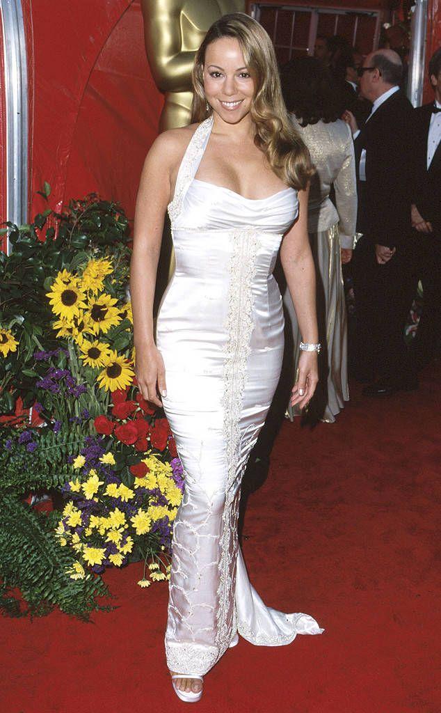 Mariah Carey From Stars First Oscars Mariah Carey Makeup Mariah Carey Mariah Carey Hair