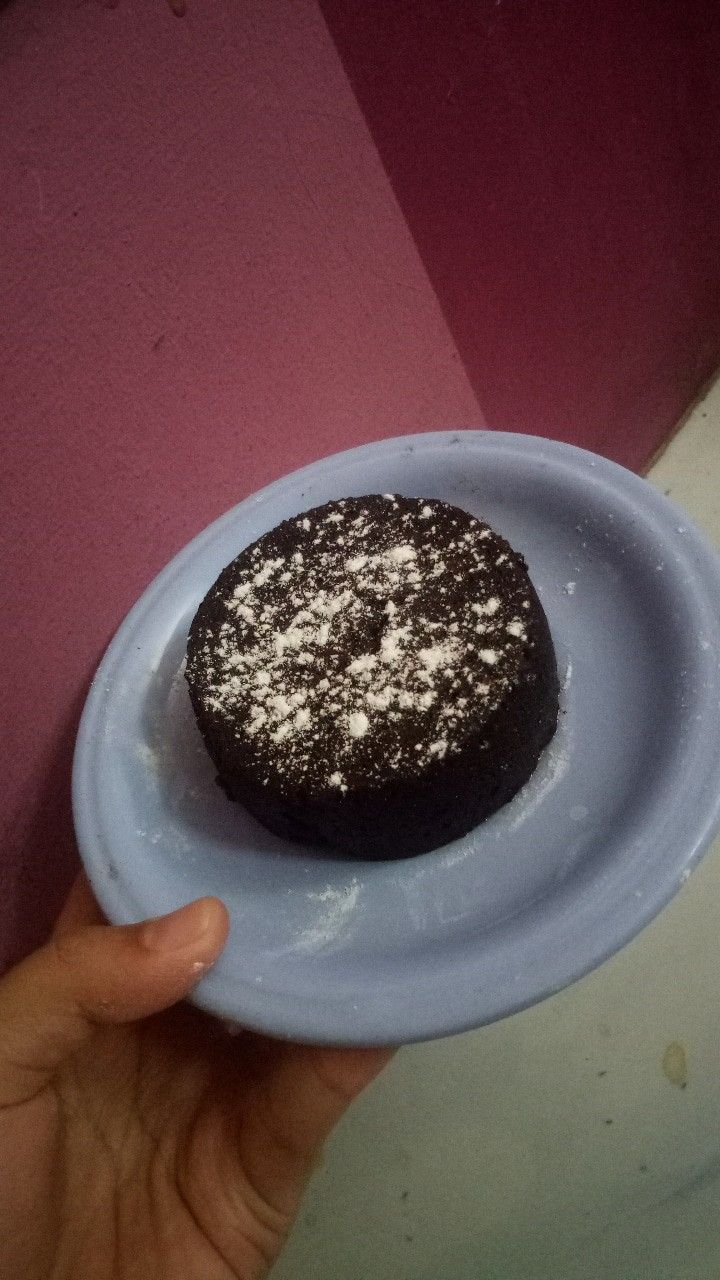 Cake Cake Choco Lava Chocolatos Drink Food Makanan Makanan