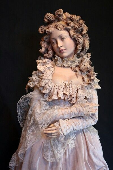 Yulia Sochilina - Wooden Art Doll
