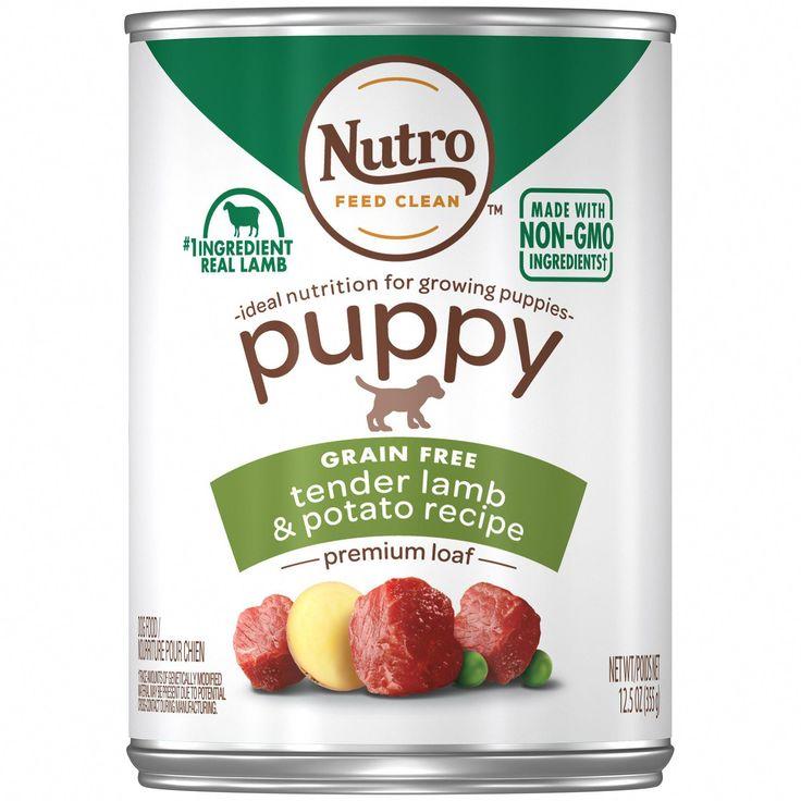 Nutro Premium Loaf Tender Lamb & Potato Recipe Canned Wet
