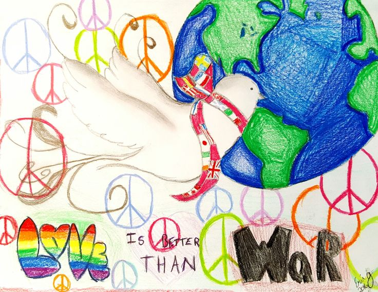 Peace poster Art Ed Central
