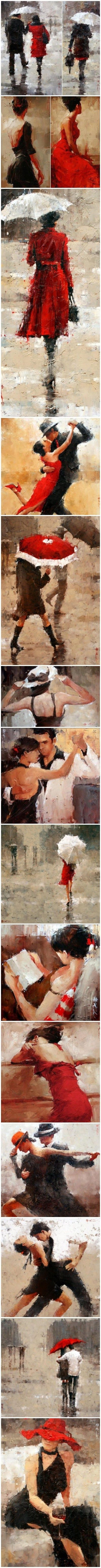 Life and Love.  A great set of pieces by an unknown artist!