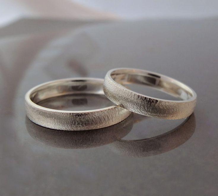 obrączki ślubne BIZOE z żółtego złota