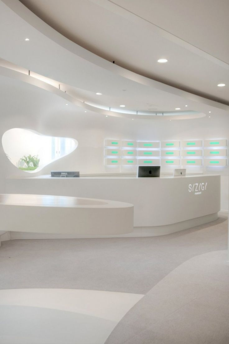 Creative partition ideas courtesy interior architect mohamed amer - 234 Best Office Interior Design Images On Pinterest Reception Counter Office Designs And Lobby Reception