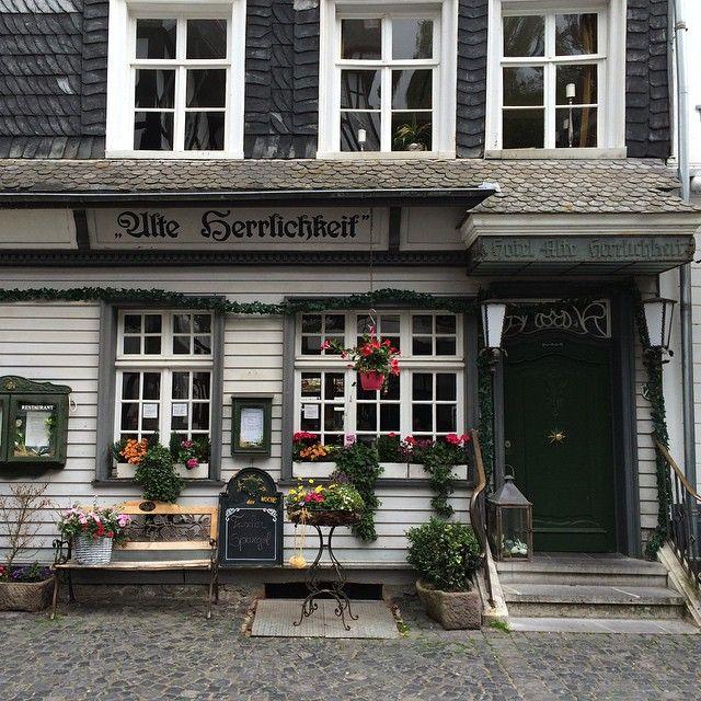 Monschau  #trip  #funny #monschau #magic #germany #house #architecture