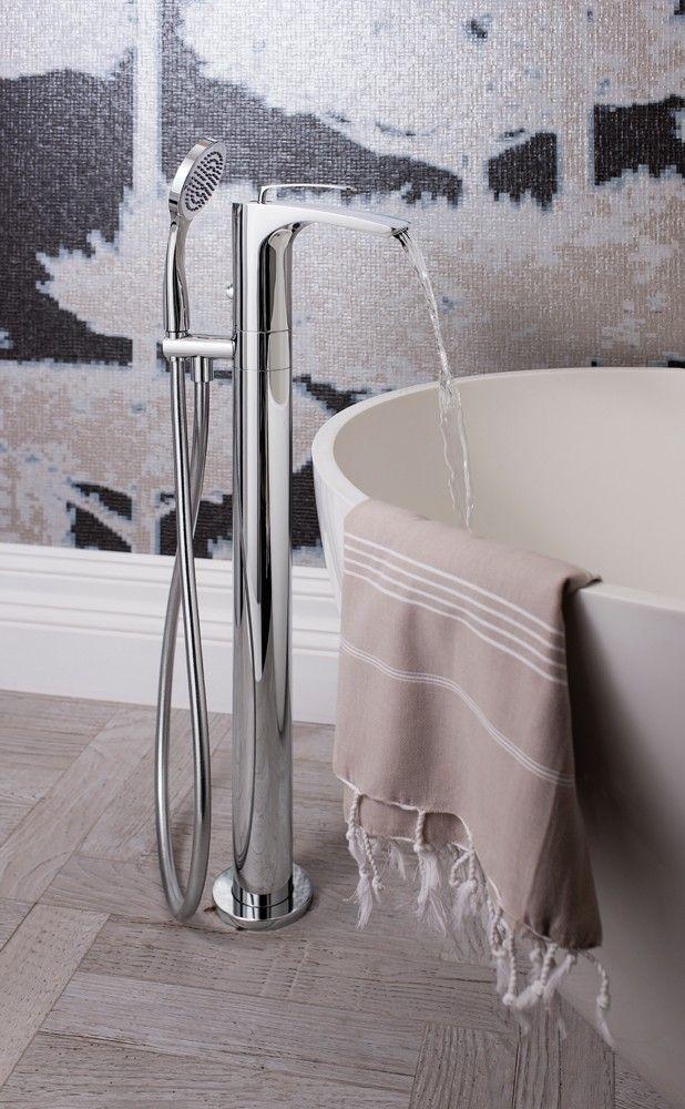 Beautiful Bathroom Taps 12 best floor standing bath taps images on pinterest | bathroom