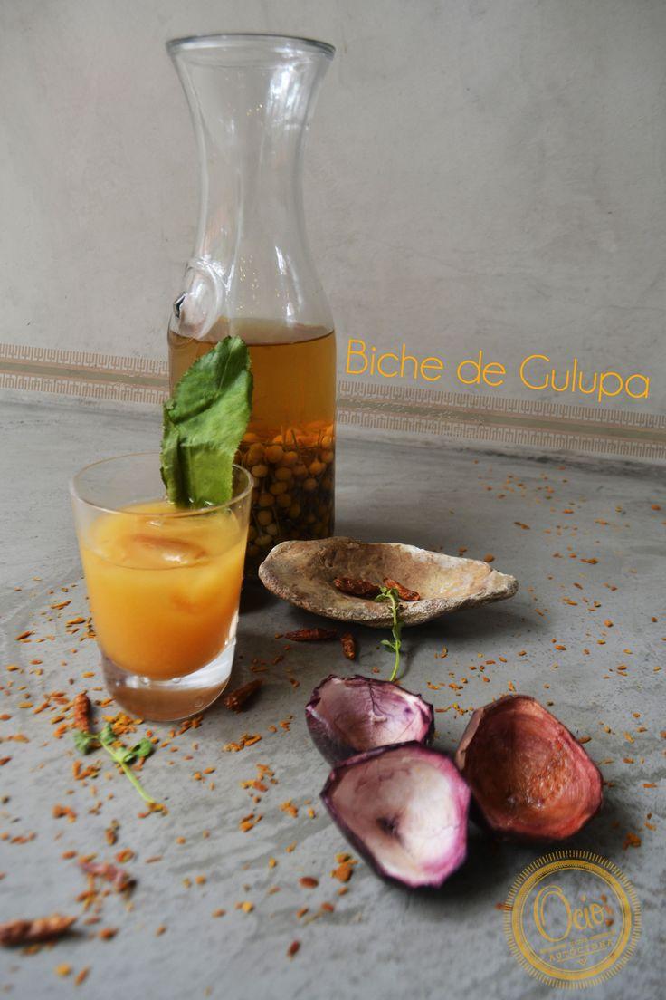 Coctel Biche de Gulupa de Ocio Restaurante Bogotá