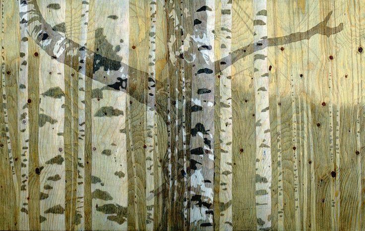 Susanne Gottberg-on wood panel