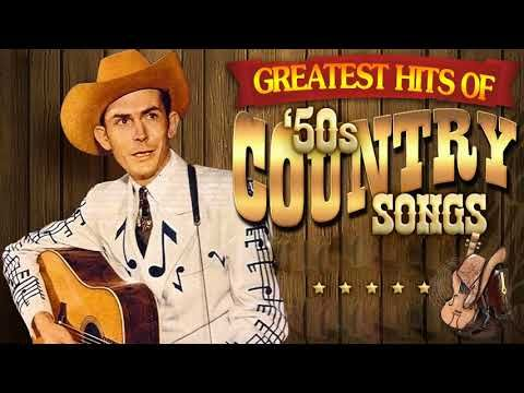Best Classic Country Songs Of 1950S - Greatest 50S Country
