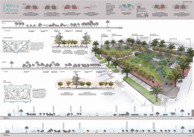 laminas concurso arquitectura urbanismo - Buscar con Google