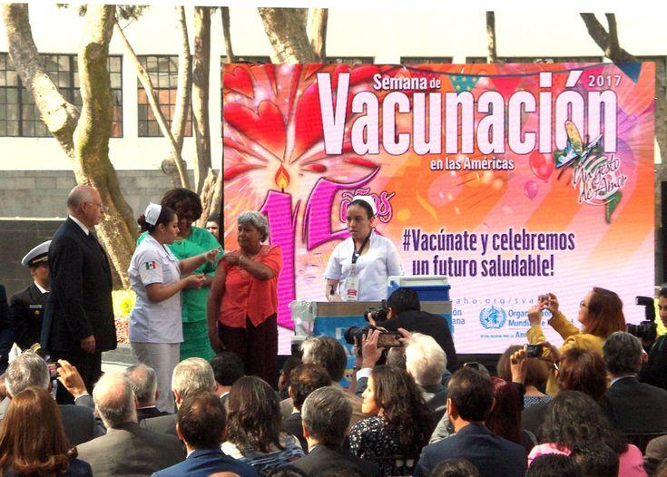 """Celebrando muy """"a la mexicana"""" 15 años de la Semana 15 Semana de Vacunación en las Américas - http://plenilunia.com/prevencion/celebrando-muy-a-la-mexicana-15-anos-de-la-semana-15-semana-de-vacunacion-en-las-americas/44692/"""