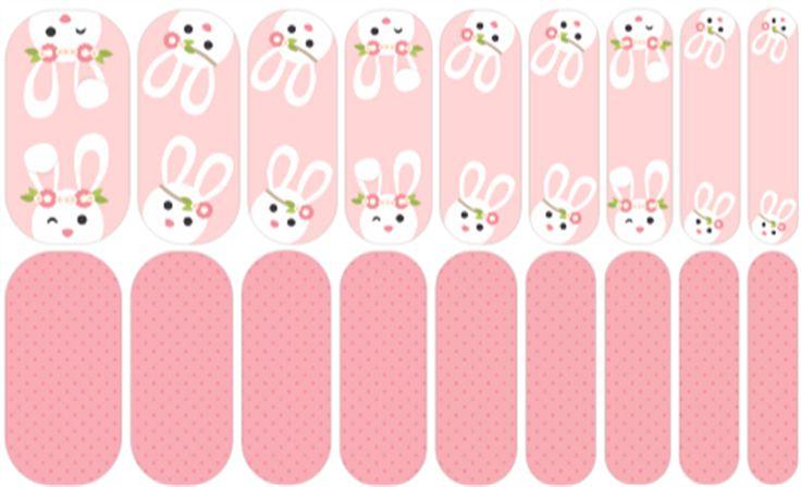 Some Bunny Loves You   Jamberry Custom Wraps NAS #noseartnas