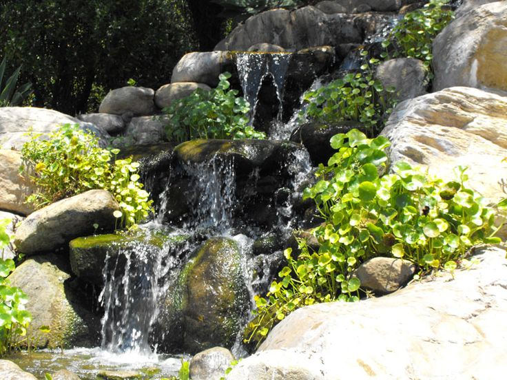 48 best images about waterfall ideas on pinterest for Artificial waterfalls design