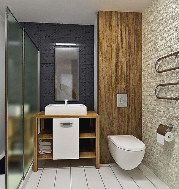 Типовая планировка однокомнатной квартиры. Дизайн-проект