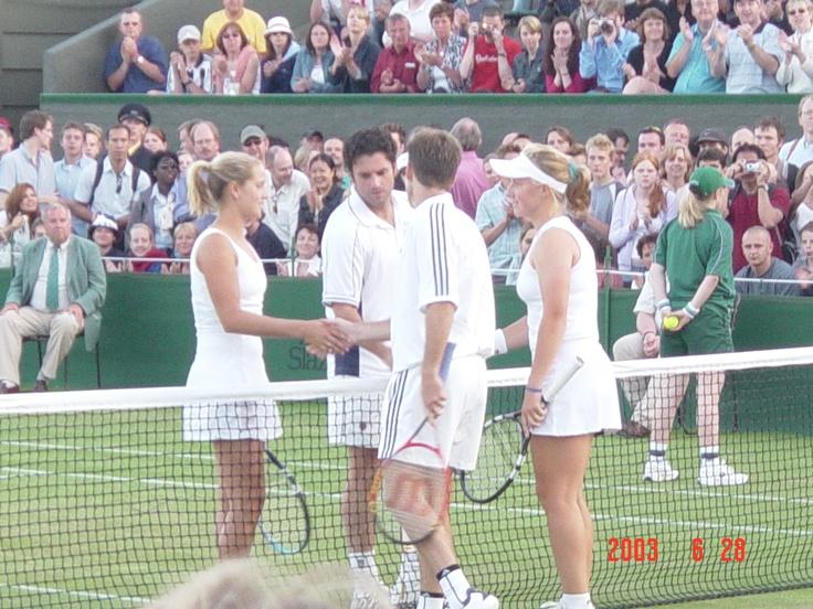 Mixed doubles - Wimbledon