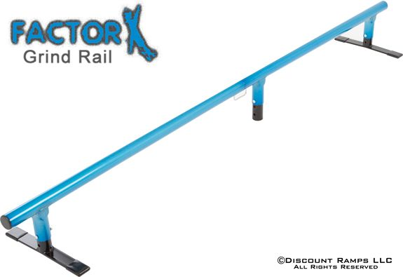 Factor X heavy duty skate rail $40