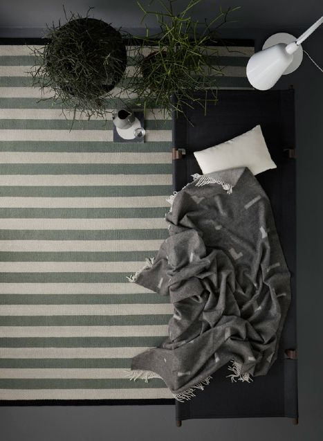 Iota blanket design by Halstrøm / Odgaard. Styling by The Sweet Spot for Fabula Living