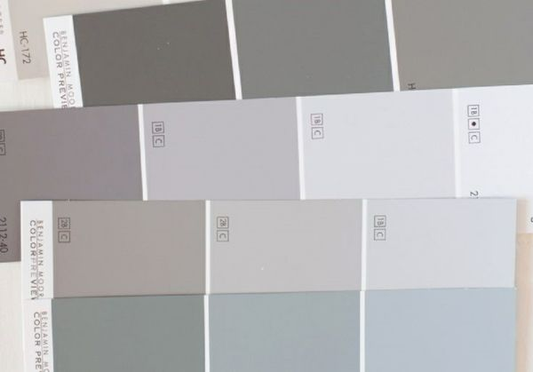 Gray wall paint – the perfect background color in every room  #background #Color…