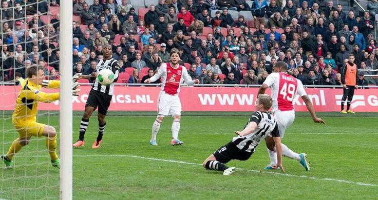 Ajax VS Heracles, Ryan Babel scores