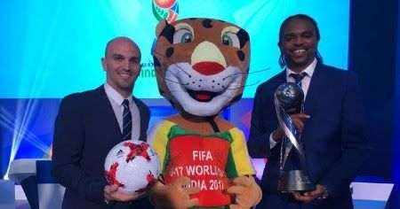 Photos: Kanu Nwankwo, Esteban Cambiasso attend FIFAU17WC Draw in India
