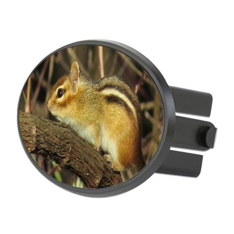 Chipmunk Hitch Cover on CafePress.com