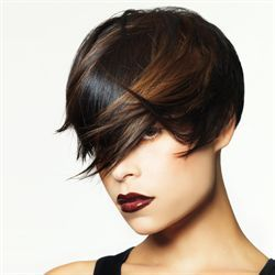 beautiful brunette color and cutPlanets, Hair Colors, Beautiful Brunettes, Shorts Bobs, Beautiful Hair, Hair Style, Wigs, Salons, Shorts Hairstyles