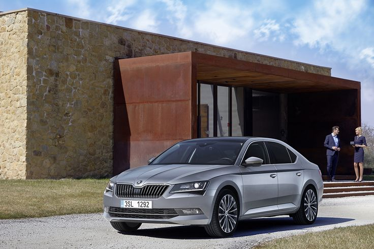 The ŠKODA designers and developers have taken the new ŠKODA Superb to a new level in terms of creativity and technology. The new ŠKODA flagship is presented to media during April and May 2015 on the roads near Florence, Italy #superb #newsuperb #skoda