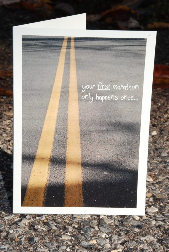 cards for runners... that's thoughtful! :)