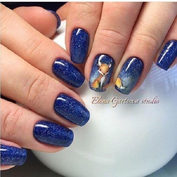 Nail Art Midnight Blue: 352 Best Images About Autumn Nail Art On Pinterest