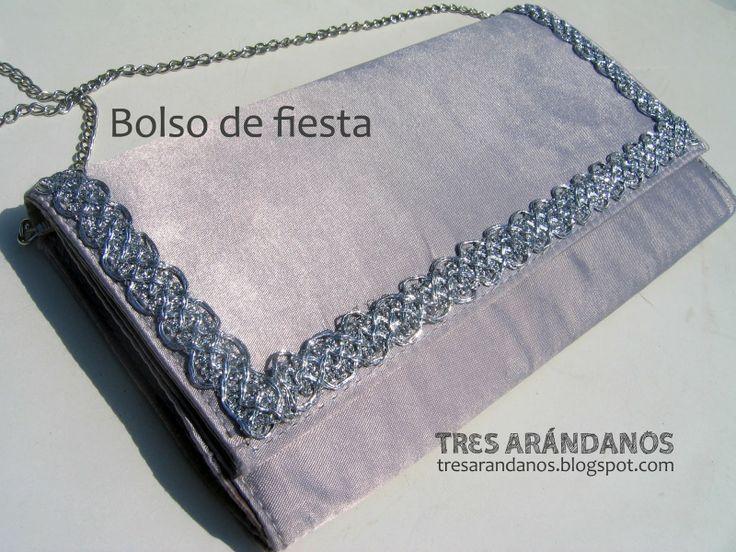como hacer bolso de fiesta - #tresarandanos #costura #bolsos #diy