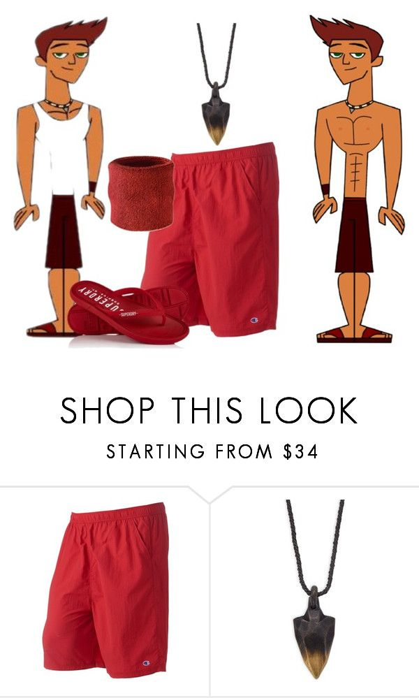 """reef swimwear"" by kimannosaurs ❤ liked on Polyvore featuring Champion, Perepaix, Superdry, men's fashion and menswear"