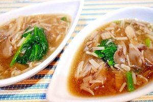 楽天が運営する楽天レシピ。ユーザーさんが投稿した「【ヘルシー・低カロリー】旨みがギッシリきのこスープ」のレシピページです。きのこのコクと旨みとトロミで美味しいスープ。食物繊維をたっぷり摂れるヘルシースープです。。きのこスープ。えのき,舞茸,オリーブオイル,水,コンソメ,胡椒,きのこペースト ※別途記載,ほうれん草 ※茹でたもの、冷凍でも可