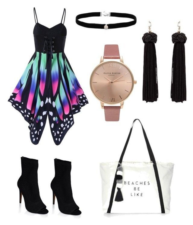 """""""Untitled #12"""" by angeline-mewengkang on Polyvore featuring Amanda Rose Collection, Milly and Olivia Burton"""