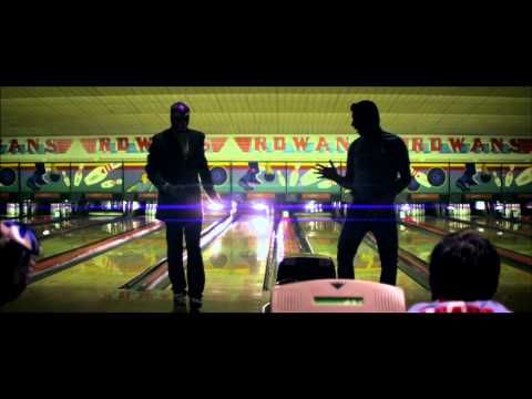 """Bruises"" by Band of Skulls // A lot of things about this make me happy: Bowling. Rock & Roll. Light effects. The drummer is wearing a The Whigs t-shirt.  Not necessarily in that order."