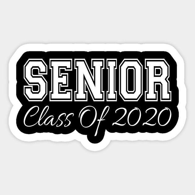 Graduation Background 2020.Senior Class Of 2020 Senior Class Of 2020 Sticker