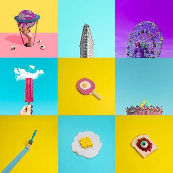 Best of my colorful 2015 🍭🍭🍭 #art #creative #editorial #magazine #mag #inspire #inspiration #heymewo #instaart #instaartist #LEGO #food #minimal #minimalism #icecream #newyork #flatiron #flatironbuilding: