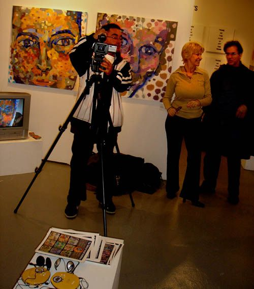 Talking Portraits Show, Arc Gallery of Chicago, 2006