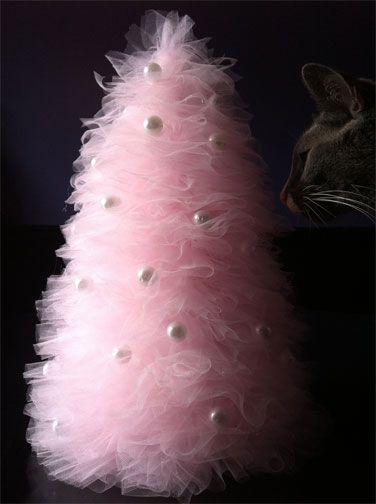 Make a Tulle Tree!