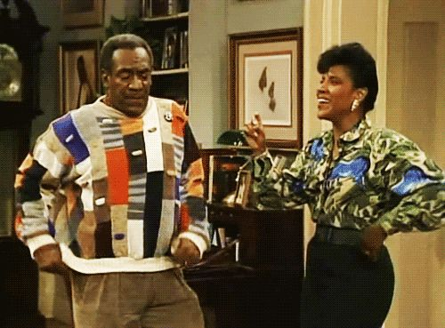 Bill Cosby Show dancing for us.....