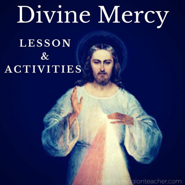 Divine Mercy Lesson Plan and Activities
