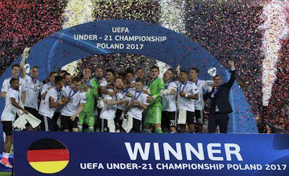 Finále EURO U21: Německo - Španělsko 1:0. Trofej mají po 8 letech
