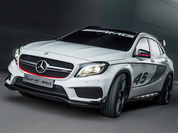 Mercedes Gla45 Amg Concept Revealed At Los Angeles Auto Show