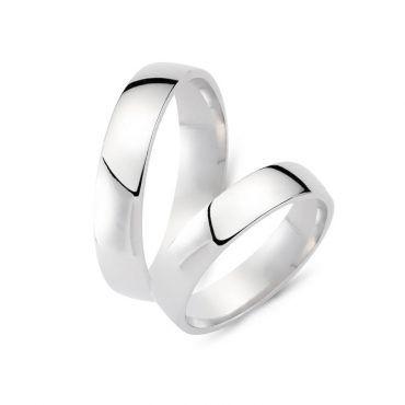 Βέρες γάμου CHRILIA 56 - Κλασικές, φαρδιές, εντυπωσιακές γαμήλιες βέρες Chrilia από λευκόχρυσο σε λουστρέ φινίρισμα   ΤΣΑΛΔΑΡΗΣ στο Χαλάνδρι #βερες #γάμου #wedding #rings