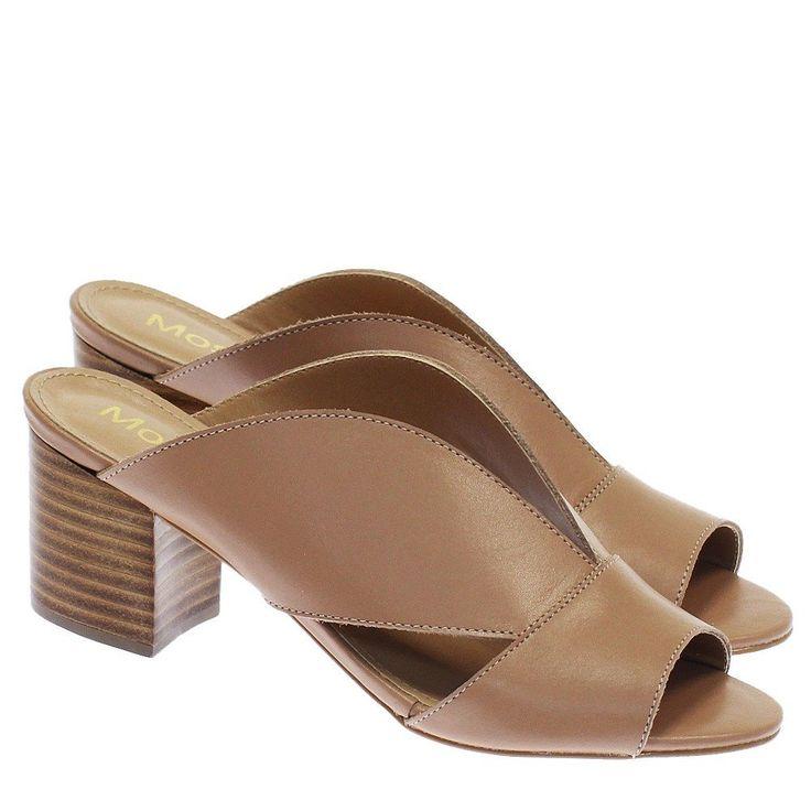Sandália Mule Decote Natural V 26806 Moselle   Moselle sapatos finos online! Mosela é mulher   – Shoes