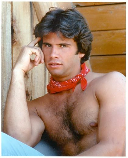 """Hairy Lorenzo Lamas. Not a joke, he played a character named """"Lance Cumson"""" on Falcon Crest.  How was that allowed?!"""