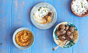 20 best summer holiday recipes:Simon Rogan's meat balls which he has covered with apricot compote