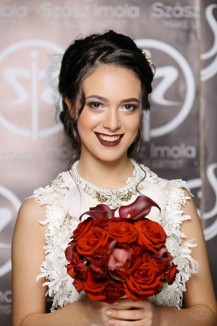 Gown: Emily's Boutique; Makeup: Imola Szasz; Hair: Tunde Szekely; Flowers: Viragalom; Photo credit: Nagy Florian Photography; Model: Iulia Bularca;