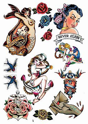 https://www.facebook.com/amazingtemporarytattoos/ Amy Winehouse Temporary Tattoos Rockabilly and Vintage Fake Temporary Tattoos