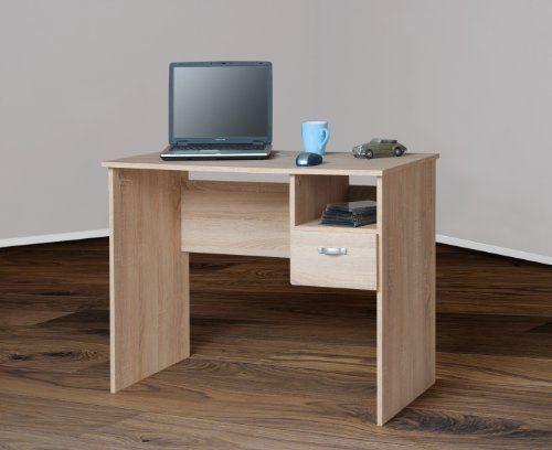 8049-2 - Schülerschreibtisch / Computertisch / PC-Tisch / mehrere Farben (sonoma Eiche sägerau)
