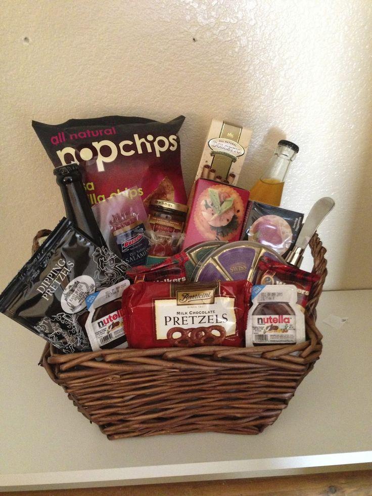 17 Best ideas about Honeymoon Gift Baskets on Pinterest